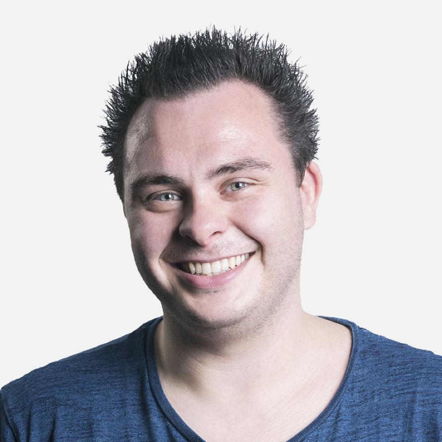 Headshot image of Andy